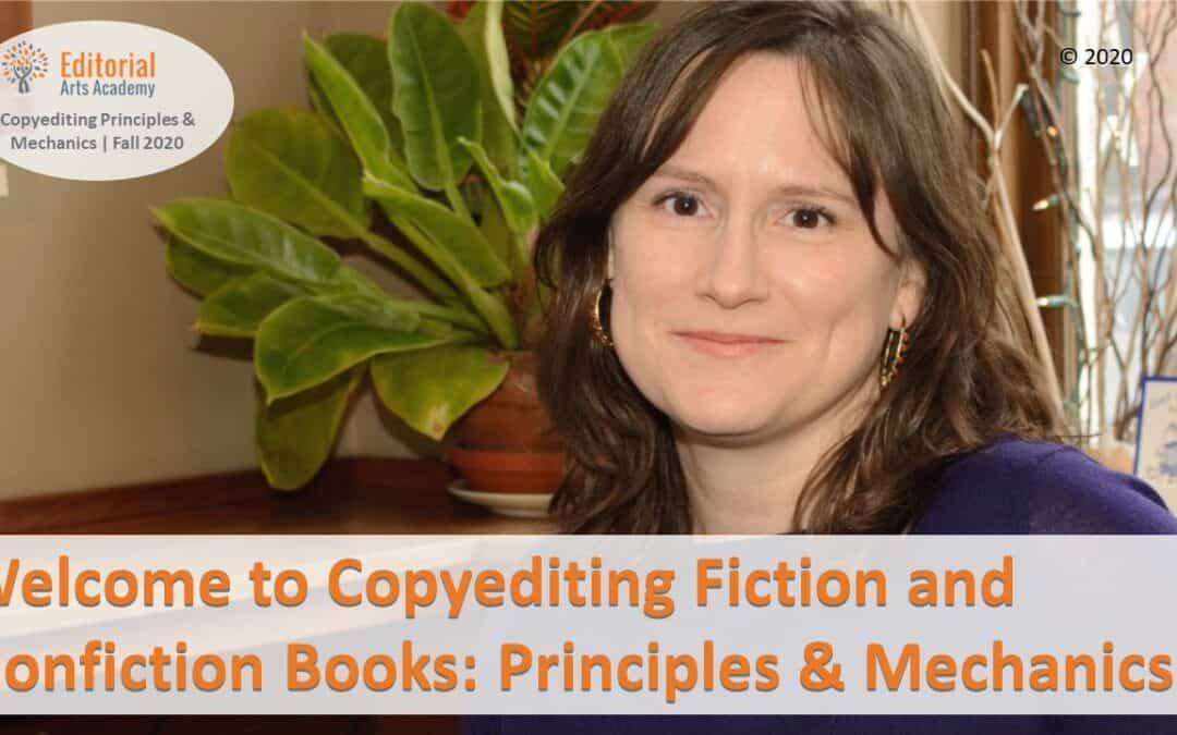 Introducing Copyediting Fiction and Nonfiction Books: Principles & Mechanics